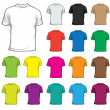 T-shirt - Stock Vector