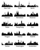 City silhouette 15 — Vector de stock