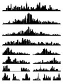 City silhouette — Stock Vector
