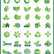 Stock Vector: Element Eco-Design