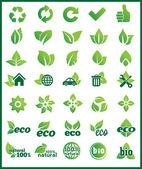 Element Eco-Design — Stock Vector