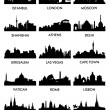 City silhouette vector 3 (15) — Stockvectorbeeld