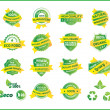 Set of Natural Premium Quality Labels — Stock Vector #27749343
