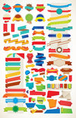 Ribbon Vector Collection — Stock Vector