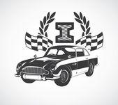 Retro car — Stock Vector