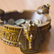 Ashtray with money — Stock Photo #14499685