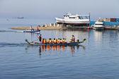 Boats races — Stock Photo