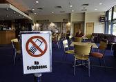 Uso de celulares proibidos na sede do clube — Foto Stock