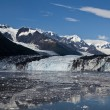 Ice melting from glacier in College Fjord — Stock Photo