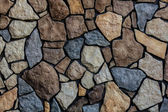 Close up of stone wall at Denali — Stock Photo