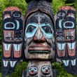 Carved totem pole in Ketchikan, Alaska — Stock Photo #47445935