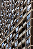 Windows en bloque de apartamentos de gran altura — Foto de Stock