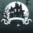 Vector illustration of Halloween back - Imagen vectorial