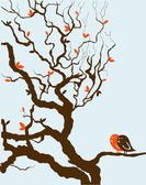 Vector illustration of Stylized tree — Stock Vector