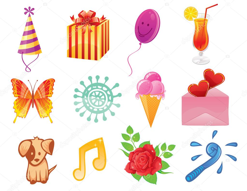 Happy birthday pattern  Stock Vector #13259065