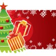 Royalty-Free Stock Vector Image: Christmas banner