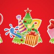 Christmas banner — Stockvectorbeeld