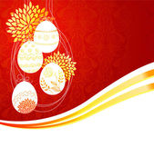 Vector illustration of Easter template — 图库矢量图片