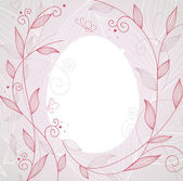 Vector illustration of Easter template — Vettoriale Stock