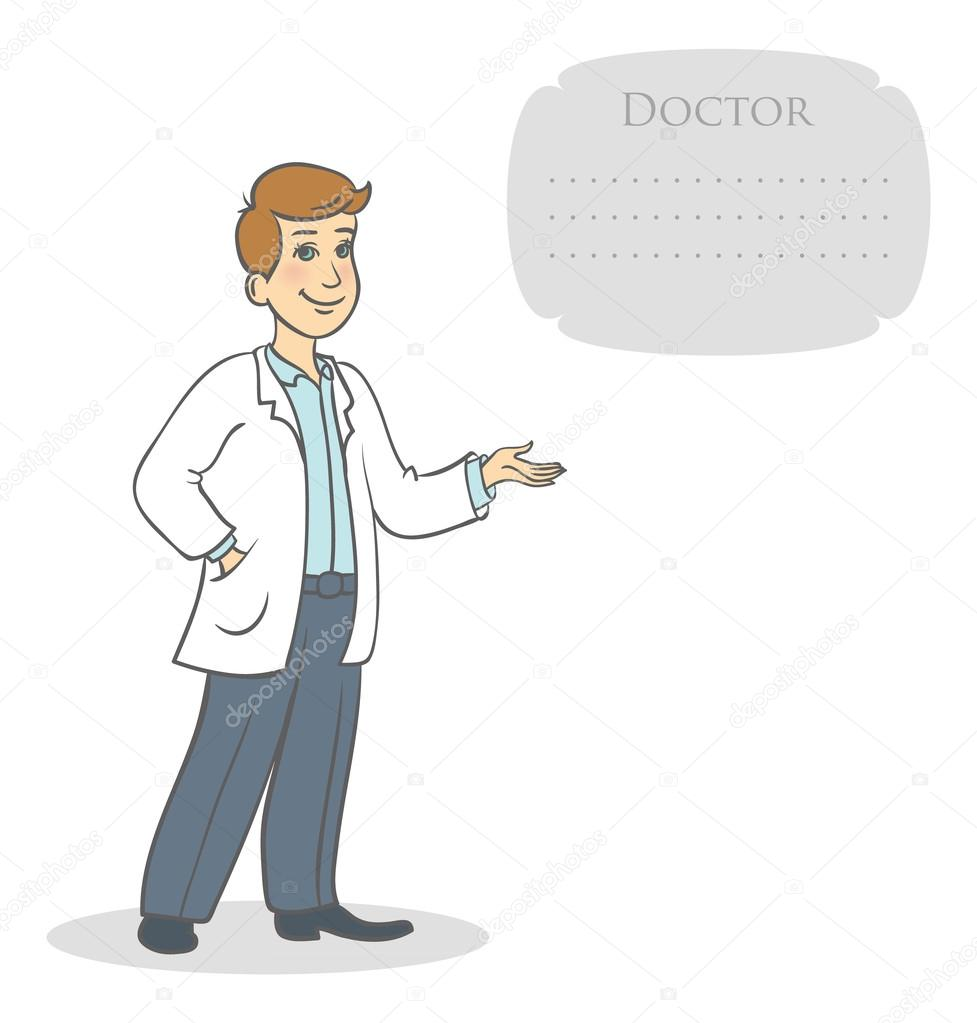 Vector illustration of Doctor — Stock Vector #13506869