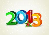 Happy new year 2013 — Stock Vector