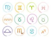 Horoscope signs set — Stock Vector