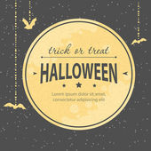 Halloween invitation — Vettoriale Stock