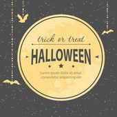 Halloween invitation — ストックベクタ