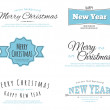 Merry Christmas type — Stock Vector #33263597