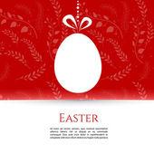 Easter design template — Stock Vector