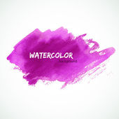 Watercolor design — Stock Vector