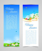 Easter design template — Stock Vector