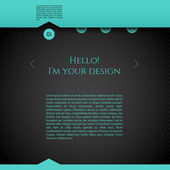 Design template — Stock Vector