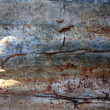 Stock Photo: Old rusted corrugated iron