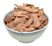 Shredded Chinese Aromatic Duck Meat — Stock Photo