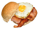 Egg And Bacon Sandwich — Stock Photo