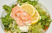 Fresh Prawn Salad — Stock Photo
