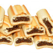 Fig Roll Biscuits — Stock Photo