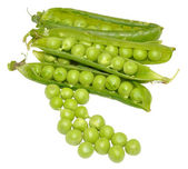 Green Peas And Pods — Stock Photo
