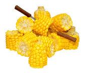 Corn On The Cob Portions — Stock Photo
