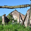 Ruined Old Farm Barn — Stock Photo