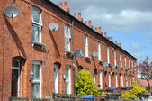 Traditional Terraced Houses — Stock Photo