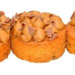 Individual Toffee Sponge Cakes — Stock Photo