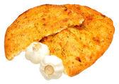 Garlic Flatbread — Stock Photo