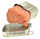 Tinned Corned Beef — Stock Photo