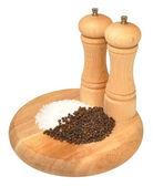 Salt And Pepper Grinder — Stock Photo