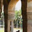 Couple in Lodhi Garden — Stock Photo