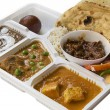 Stock Photo: IndiThali food