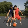 Basketball players — Stock Photo #39444835