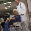 Doctor and patient — Stock Photo #39446059